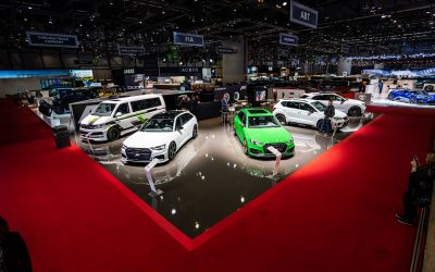 89. Auto-Salon in Genf mit ABT Sportsline