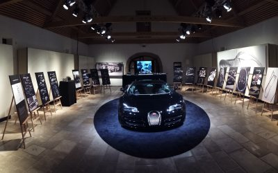 dlp motive rückt Starpianist Lang Lang für Bugatti ins rechte Licht