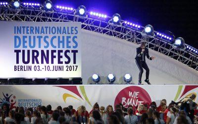 dlp motive beim Internationalen Deutschen Turnfest in Berlin