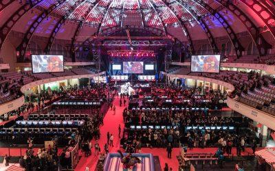 "dlp motive beim ""Final Fantasy XIV Fan Festival"" 2017 in der Frankfurter Festhalle"