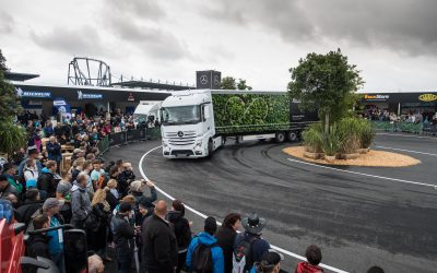 dlp motive für die Daimler AG beim 32. ADAC Truck Grand Prix auf dem Nürburgring